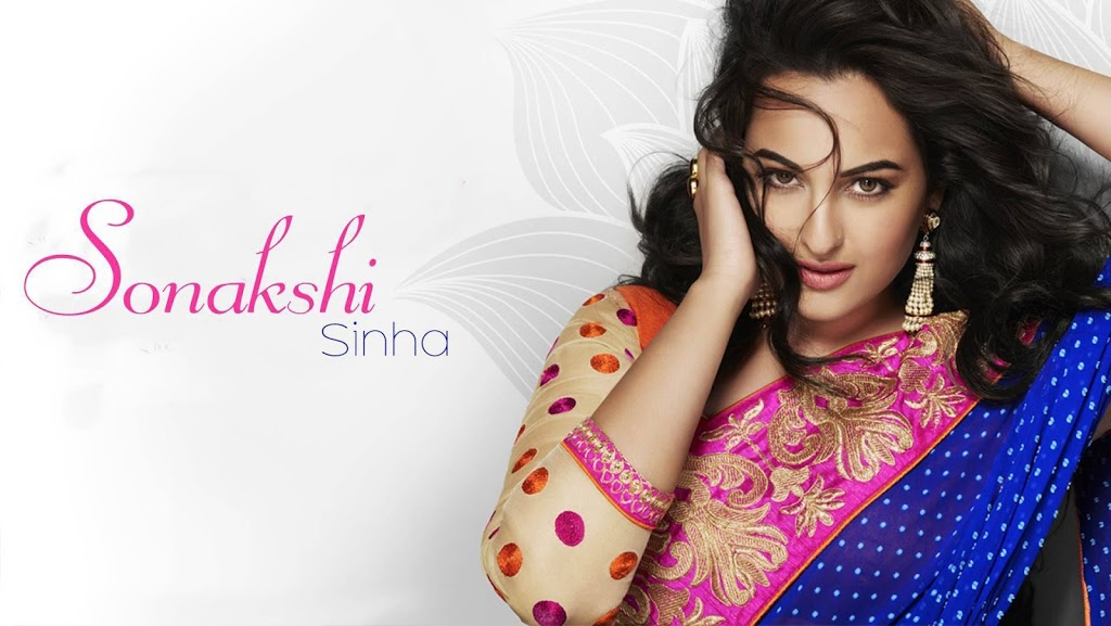 Download Bubbly Sonakshi Sinha Wallpapers in Full HD Quality