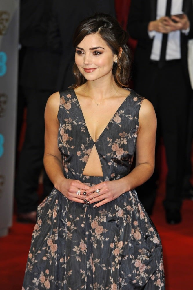 jenna-coleman-red-carpet-pictures